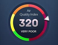 Air Quality Service App