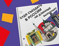 Дизайн путеводителя по России