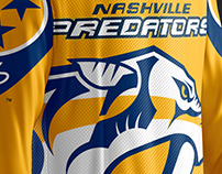 Nashville Predators - Uniform Concept Design