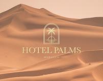 Hotel Palms Branding