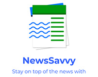 NewsSavvy - Stay on top of the news