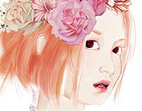 Spring Equinox (Lee Hi fan art)