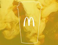 McDonald's coffee cups