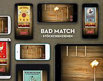 Bad Match – Stöckchenziehen App