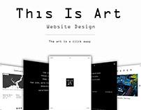 This is Art Website Design