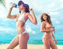 Coca Cola, Aguas Alpina y Dasani