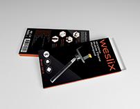 Weslix Selfie Stick Packaging Design