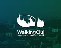 WalkingCluj | Logo design