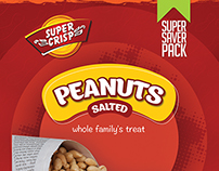 Super Crisp Peanut packaging options
