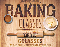 Baking Classes Flyer Template
