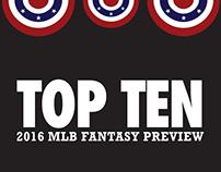 Fantasy Baseball Preview (Top Ten)