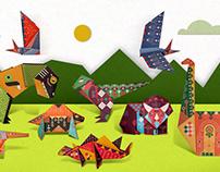 Origami Dinosaurs - Usborne Publishing UK