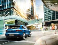 Porsche Macan S - CGI & Retouching