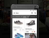 LOYO - Shopping App UI Concept