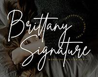 Brittany Script Font