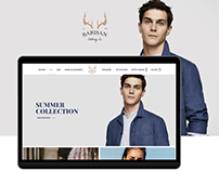 Barisan Online Store Template