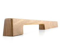 TIRAR - SPOTTED GUM SOLID TIMBER DOOR PULL
