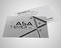 ASA EMEA • business card
