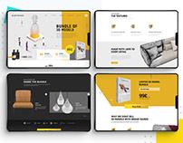 Danthree - Ecommerce Ui/UX design & Development