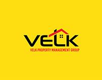 VELK Property Management Group Logo Design