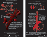 Shakespeare Promotional Posters