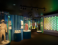 Science Fiction & Fantasy Hall of Fame Exhibit Design