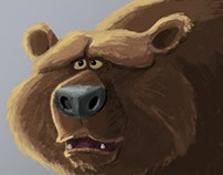 Spirit Bear visual development art