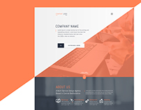 Multi-Service Design Agency Website Template