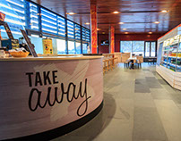 Ambiente del local Take Away