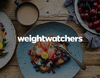 Weight Watchers / Coaching Member Dashboard