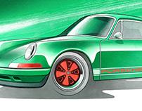 Car illustration (2020)
