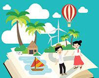 Vector Illustrations: Places & People