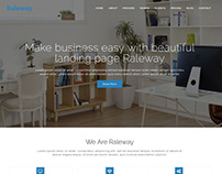 Raleway - Bootstrap Agency WordPress Theme