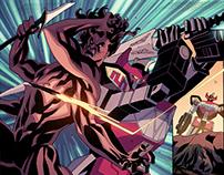 BOOM! Studio's Mighty Morphin Power Rangers #5
