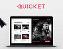 Quicket Tickets App