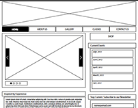 Altitude MMA Website Wireframes