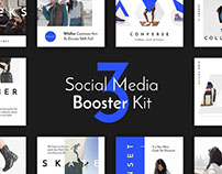 Social Media Booster Kit 3 by PixelBuddha