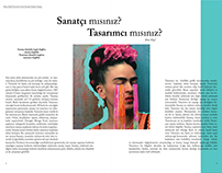 Magazine Paper Design