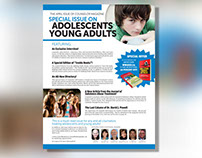 Counselor Magazine Advertisements Design