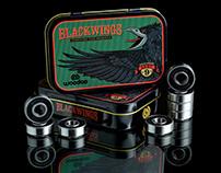 BLACKWINGS SKATE BEARINGS