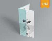 Slick Free 2 Fold Brochure Mockup