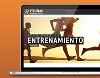 FITNESAS |Diseño Web WordPress - E-Commerce