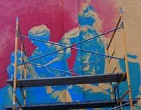Detroit Ch. 9 Vietnam Veterans Memorial Mural - Acrylic