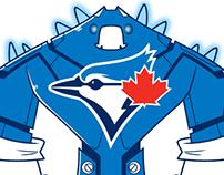 Toronto Blue Jays robot