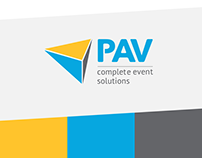 PAV Complete Event Solutions - Rebrand