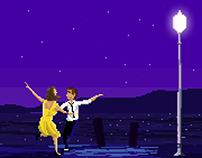 Pixel Art / La La Land