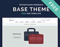 BASE THEME - Free - PSD Template