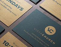 Vista Church Invitation Cards