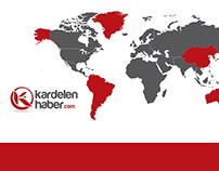 Kardelen Haber Logo Tasarım
