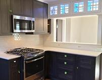 UNDER CONSTRUCTION: 2016 Kitchen Reno, Pittsford,  NY